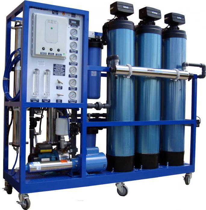 фильтр умягчения воды котла