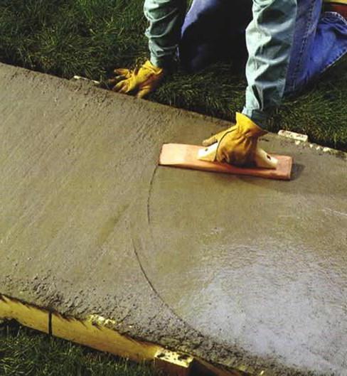 состав бетона для отмостки пропорции