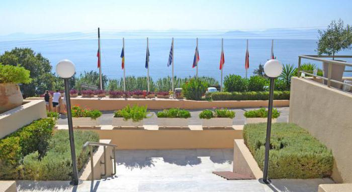 corfu belvedere hotel 3 корфу
