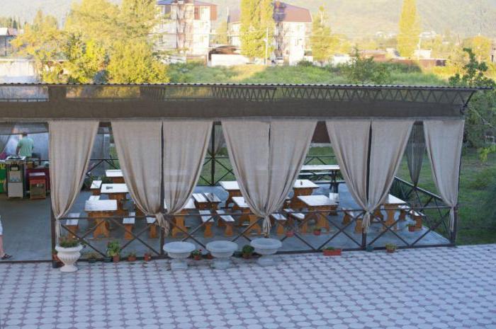 гостевой дом абхазия цандрипш