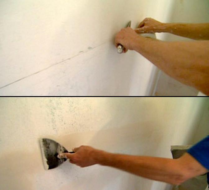 Монтажная пена для заделки швов на потолке