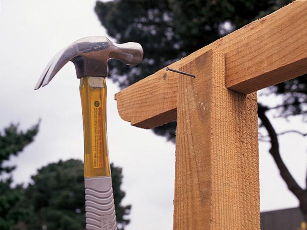 The construction of arbors from timber