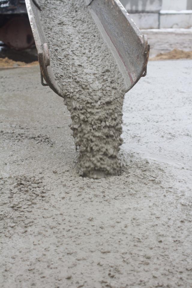 Подача самоуплотняющегося бетона