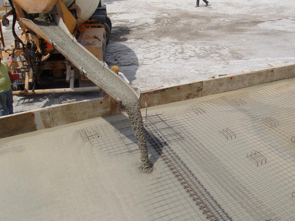 Работа с самоуплотняющимся бетоном