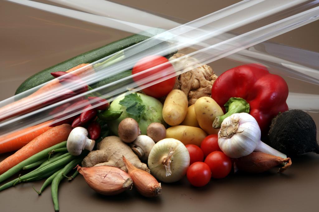 Применение пленки для овощей