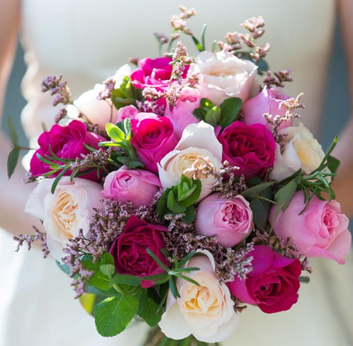 Сочетания роз