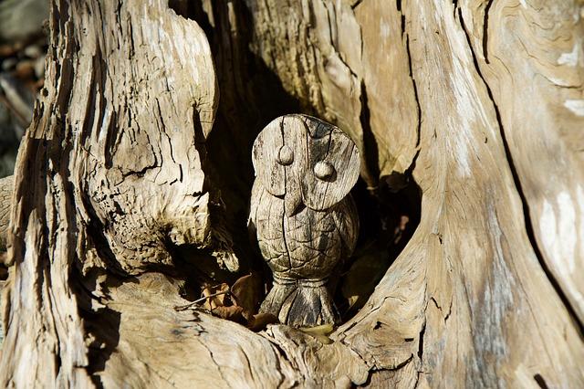 Sculptural carving