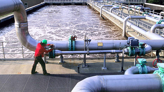 Water use in enterprises