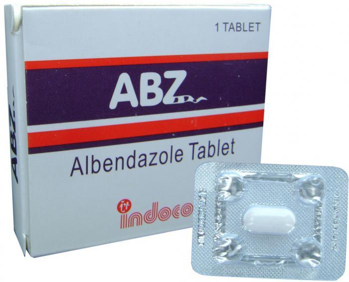 Альбендазол инструкция по применению для детей