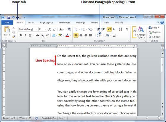 как выровнять текст в word