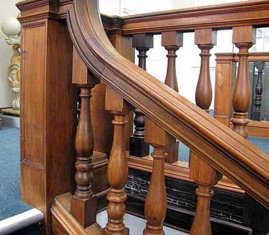 Комплектующие для лестниц Ступени, балясины, щиты