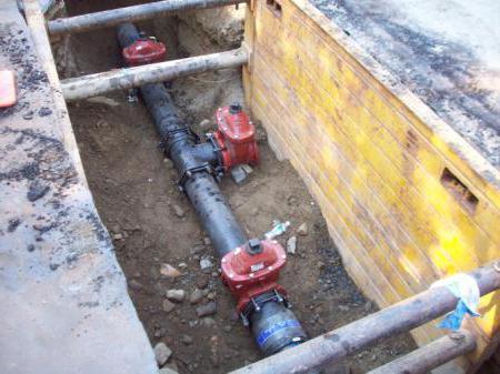 схема горячего водоснабжения частного дома