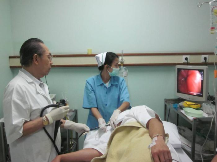 гастроскопия матки как делают