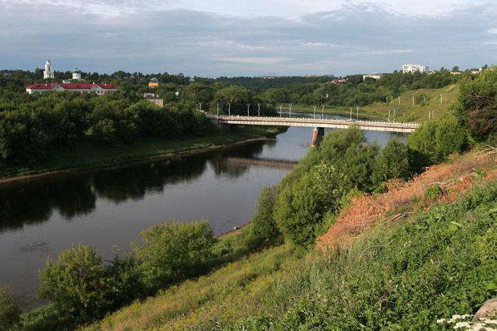 реки валдайской возвышенности