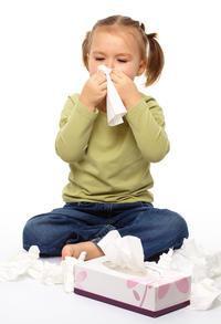причины заложенности носа у детей