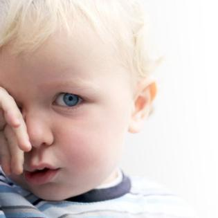 Месячный ребёнок глаза гноятся