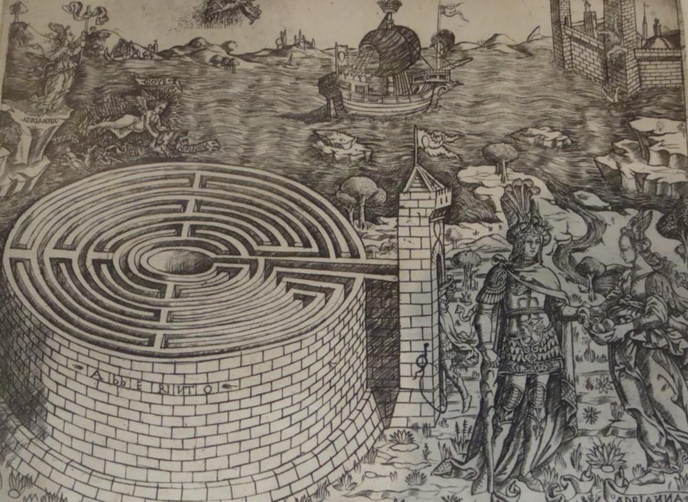 рекомендуют рисунки лабиринта из древней греции обрезки основной ствол