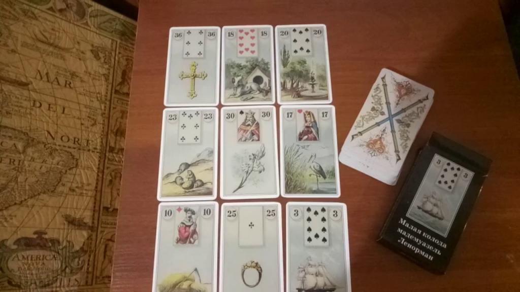 Гадание на ленорман 9 карт смотреть аниме непутевый ученик в школе магии 2 сезон на русском