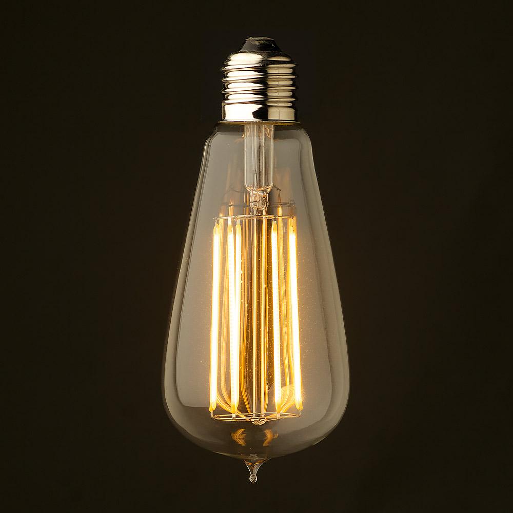 Retro style led lamp