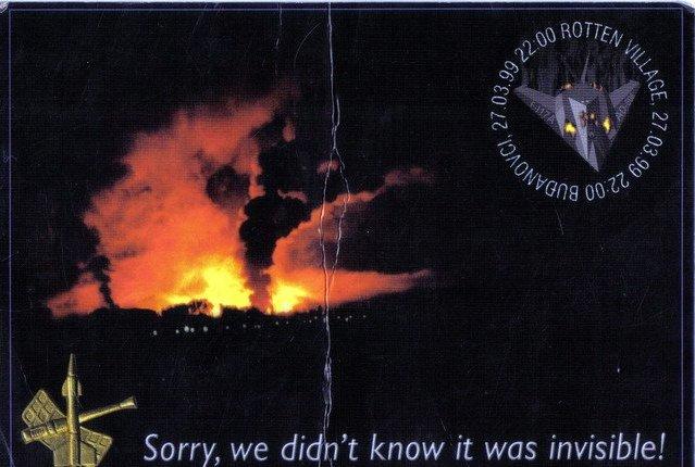 Самолет стелс, сбитый в Югославии: факты истории