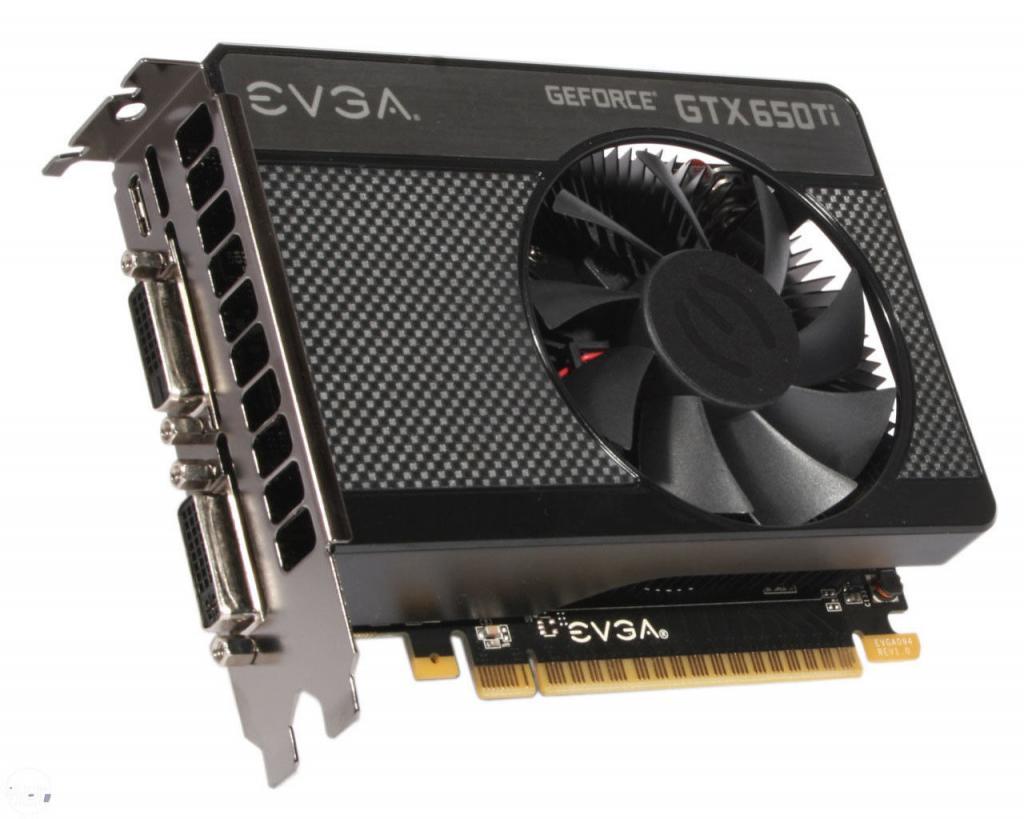 Video card EVGA GTX 650 Ti SSC