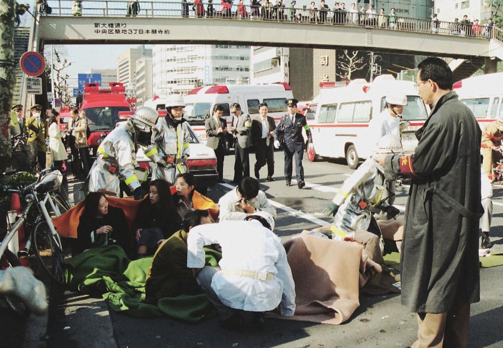зариновая атака в японии