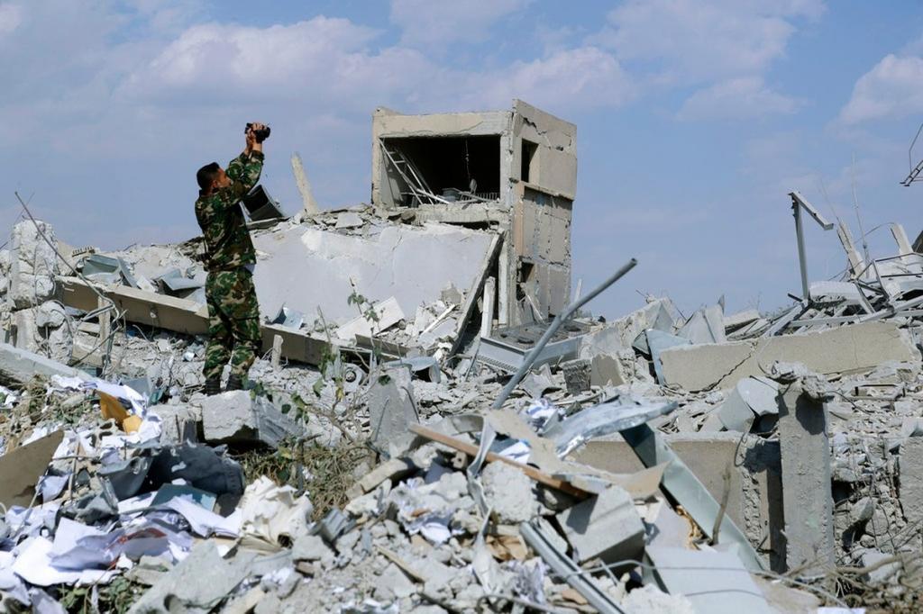 зарин в сирии