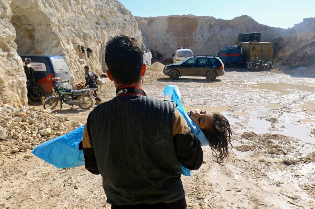 отравление зарином в сирии