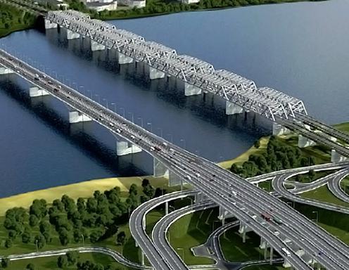 4 мост через енисей