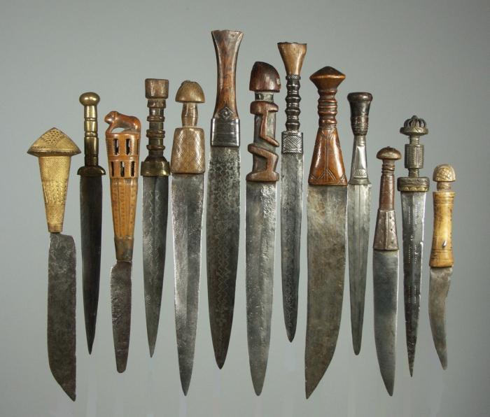 Холодное оружие - боевое оружие. Ножи (16 фото)