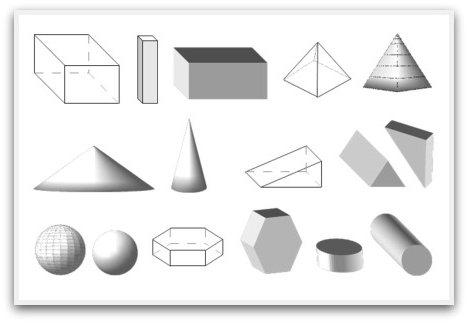Все геометрические фигуры