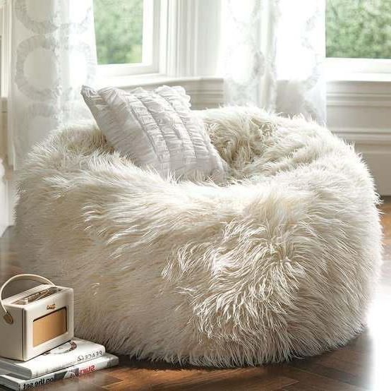for White comfy chair