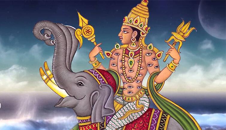 Индийский бог Индра