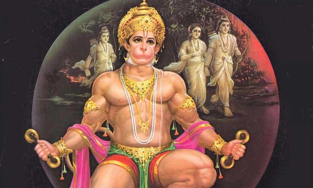 Индийский бог Хануман