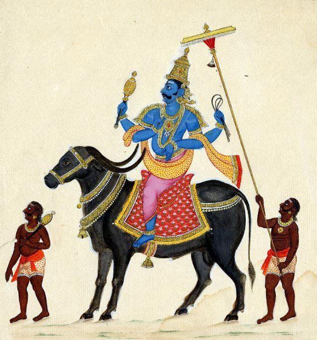Индийский бог Яма