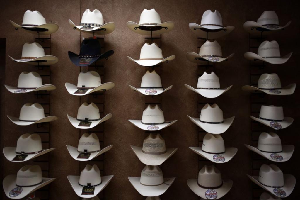 Lots of cowboy hats