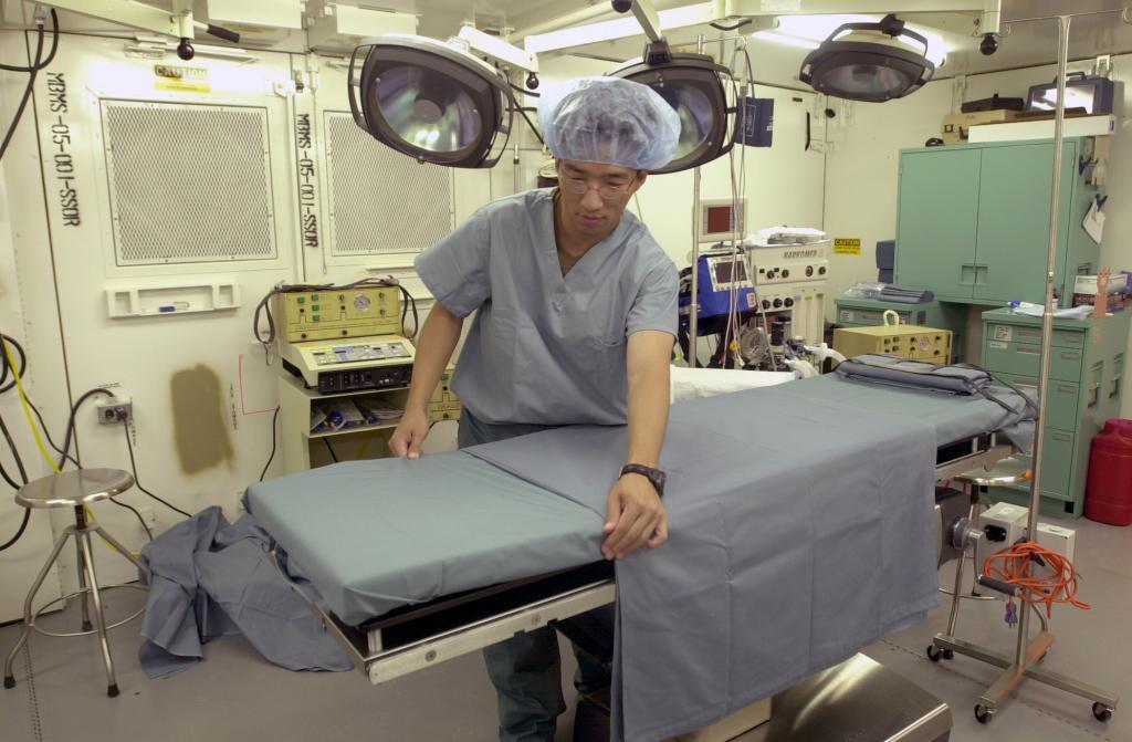 Подготовка операционной