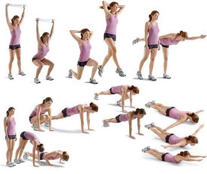 Сбросить Вес Движением. Список лучших упражнений для похудения в домашних условиях для женщин