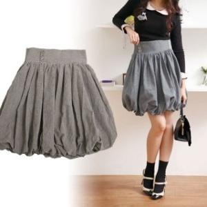 Как сшить юбка фонарик