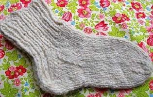 связать носки