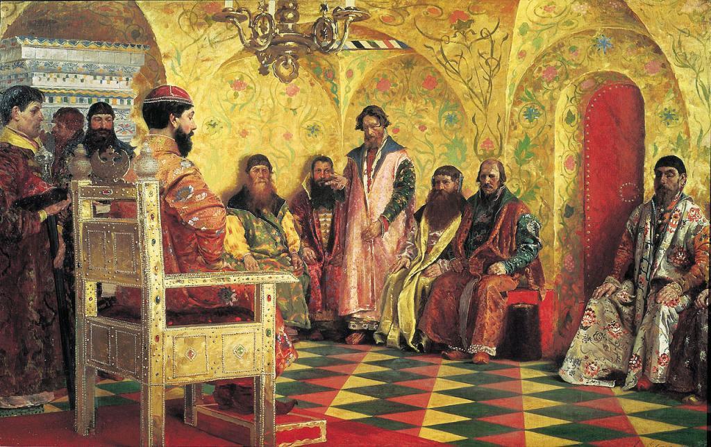 В XV-XVI вв боярская дума была высшим органом власти