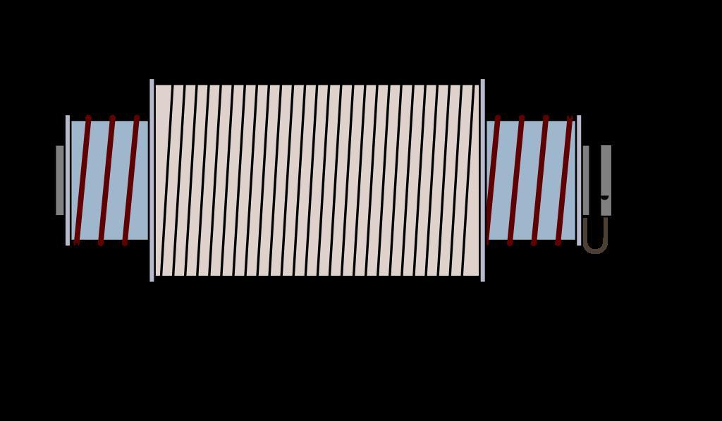 Схема катушки трансформатора