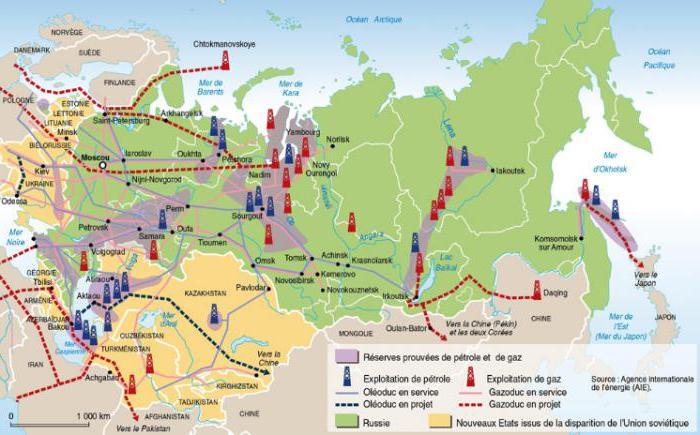 сколько нефти и газа в год продает россия