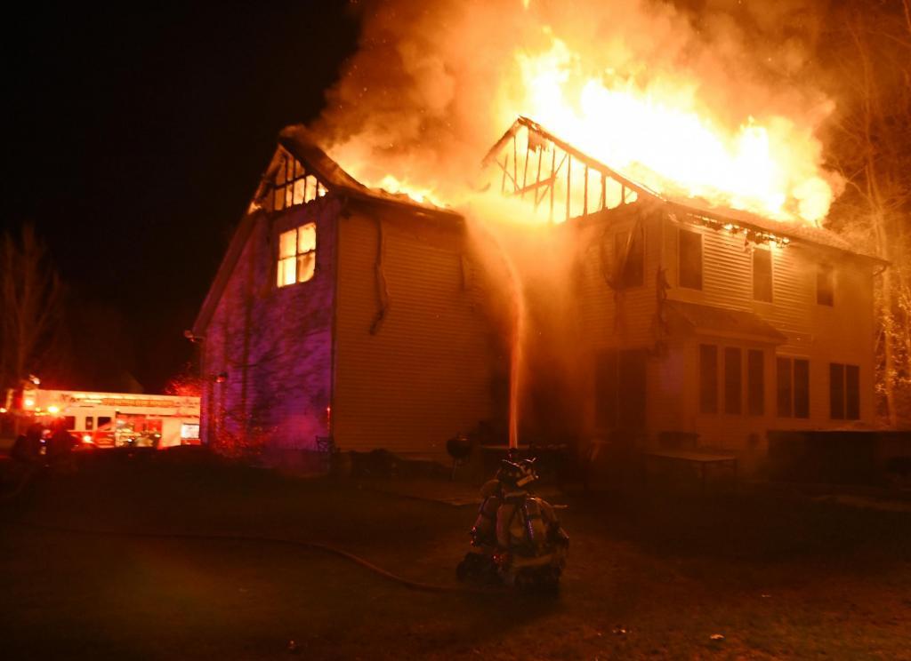 Пожар в Гленвилле