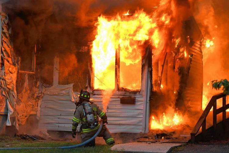 Пожарник в Гринфилде
