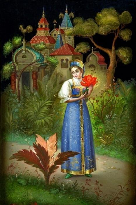 Секс сказка аленький цветочек