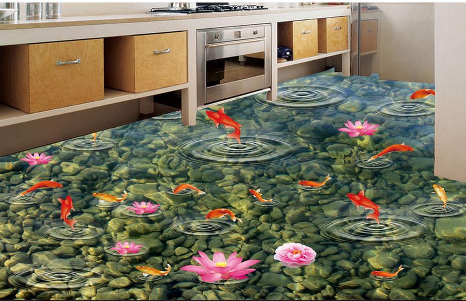 3D bulk floor