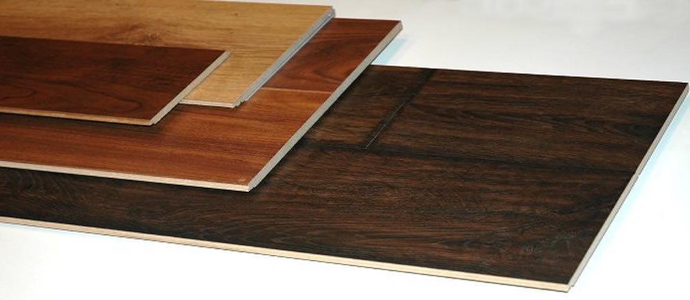 The variety of colors of the laminate