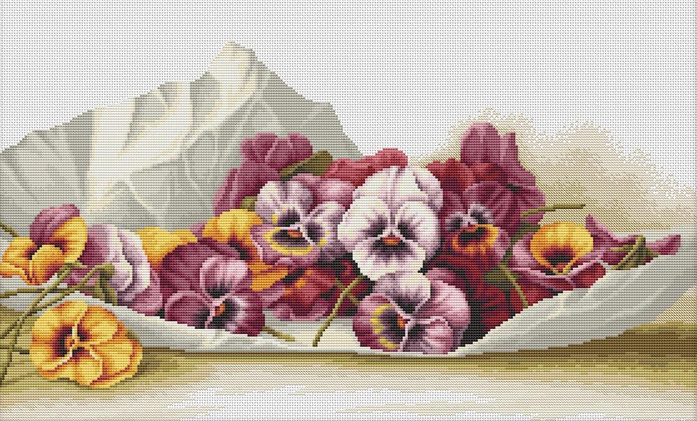 Очаровательная схема вышивки