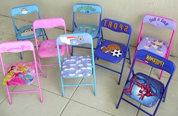 Детские раскладные кресла